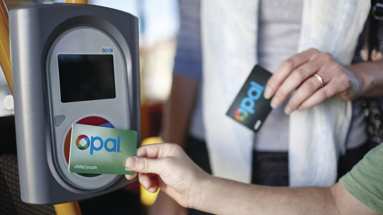 Tapping on and off with Opal | transportnsw info