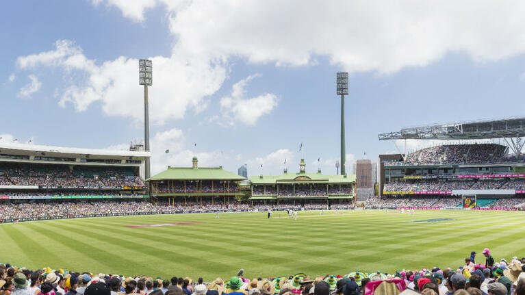 Sydney Cricket Ground (SCG) with crowded audience