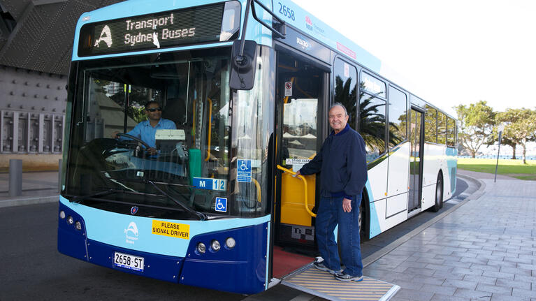 Accessible bus travel | transportnsw info