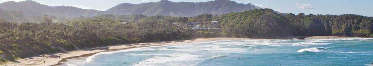 Coffs Harbour coast and beach