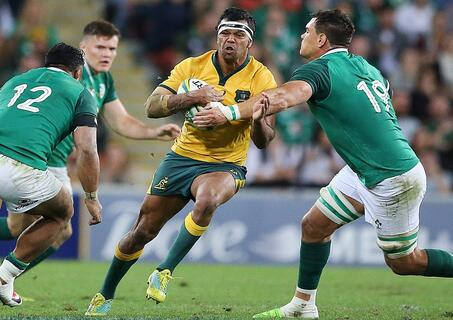 Wallabies v Ireland index