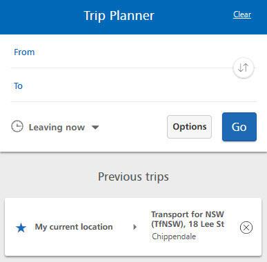 Subway Map Planner.Trip Planner Help Transportnsw Info